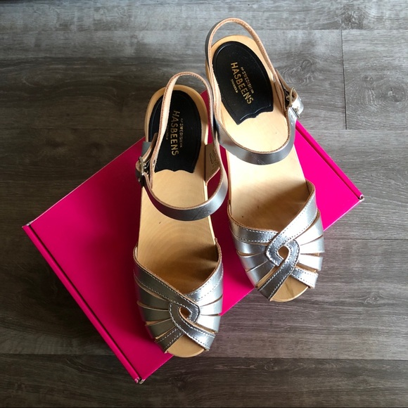Swedish Hasbeens  Womens Fredrica Heeled Sandal Pick SZ//Color.